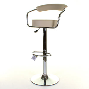 Monza Bar Stool - Cream - Set of 2