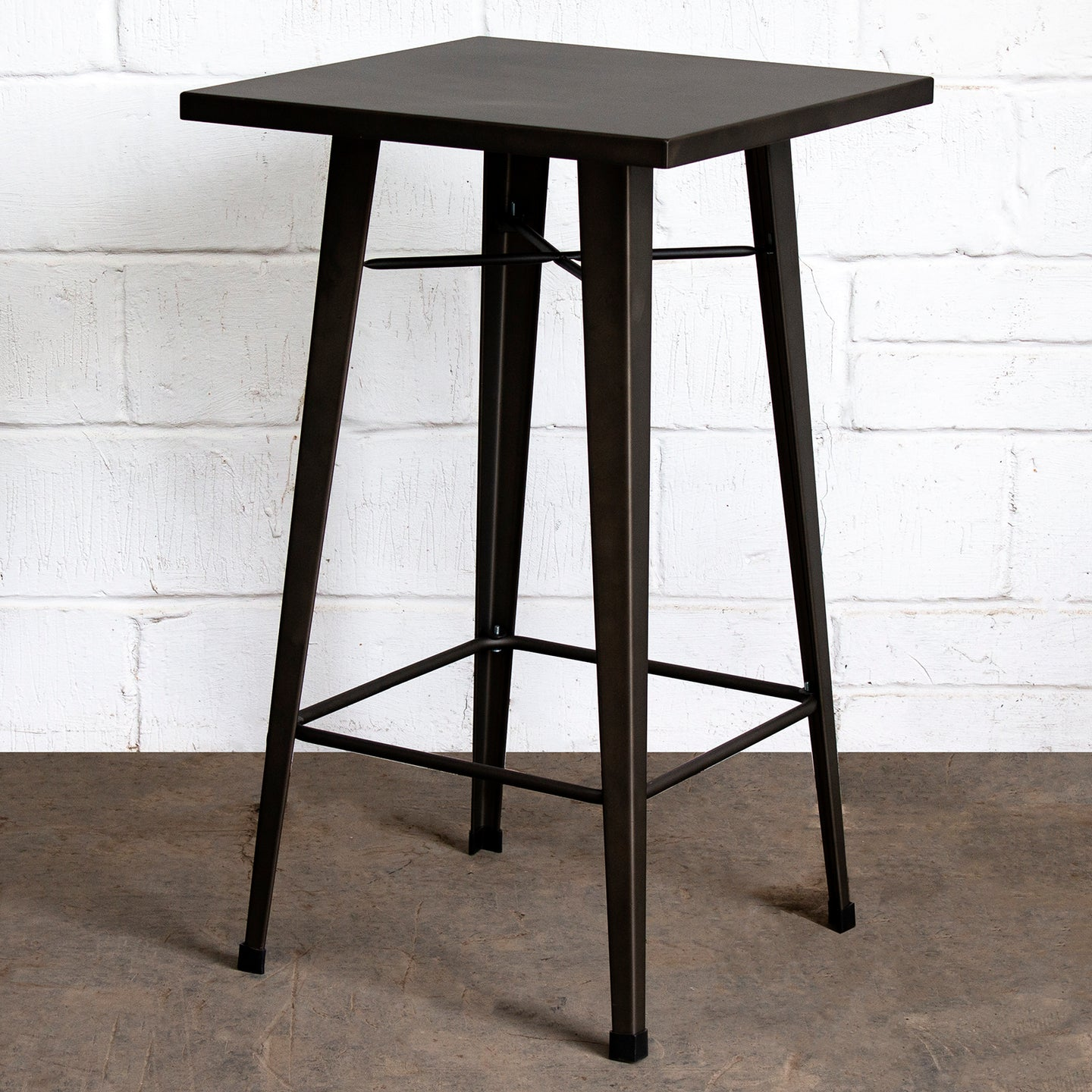 Laus Table - Gun Metal Grey