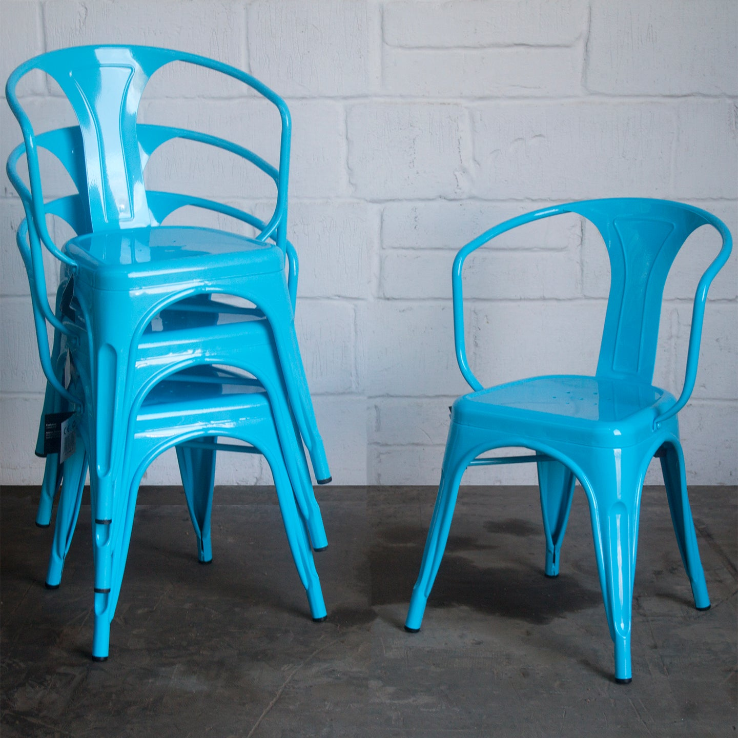 Forli Chair - Eggshell Blue