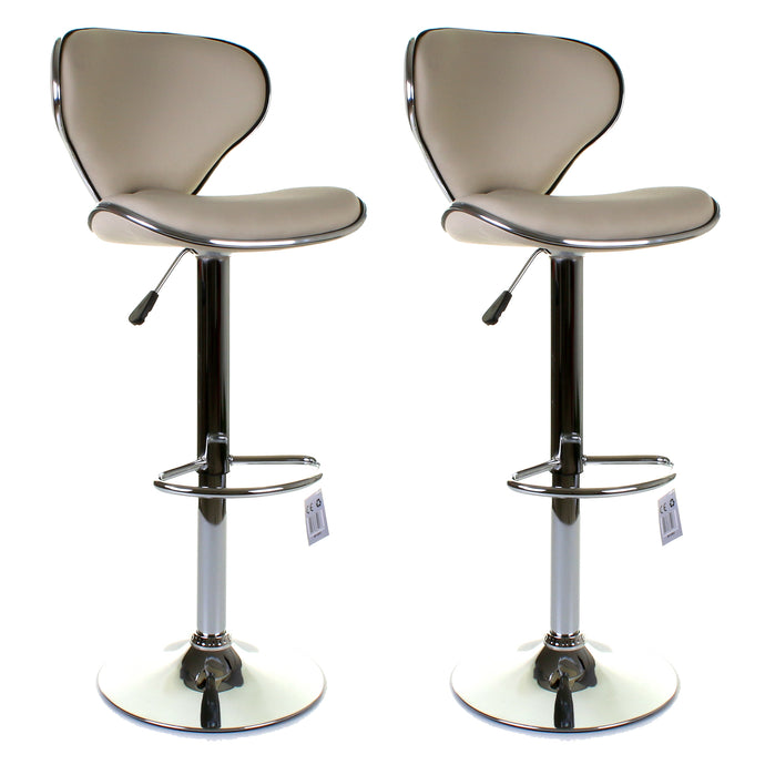 Ferrera Bar Stool - Cream - Set of 2
