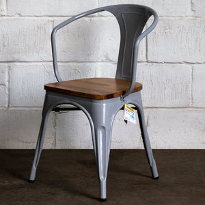 Florence Chair - Pale Grey