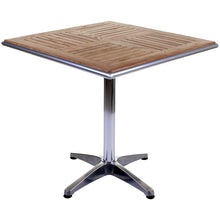 Nassau Bistro Table - Chrome & Ash Wood