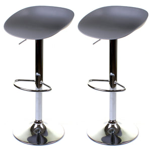 Potenza Bar Stool - Grey - Set of 2