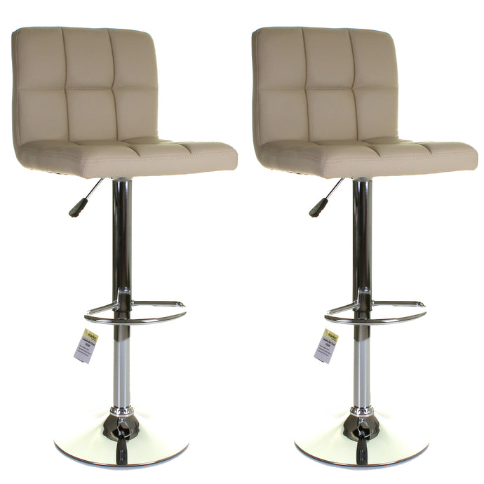 Catania Bar Stool - Cream - Set of 2