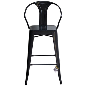 Favara Bar Stool - Graphite Grey