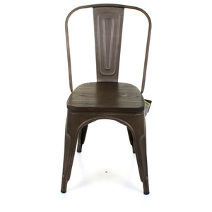 Roma Chair - Gun Metal Grey