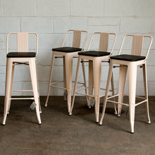 Milan Bar Stool - Cream