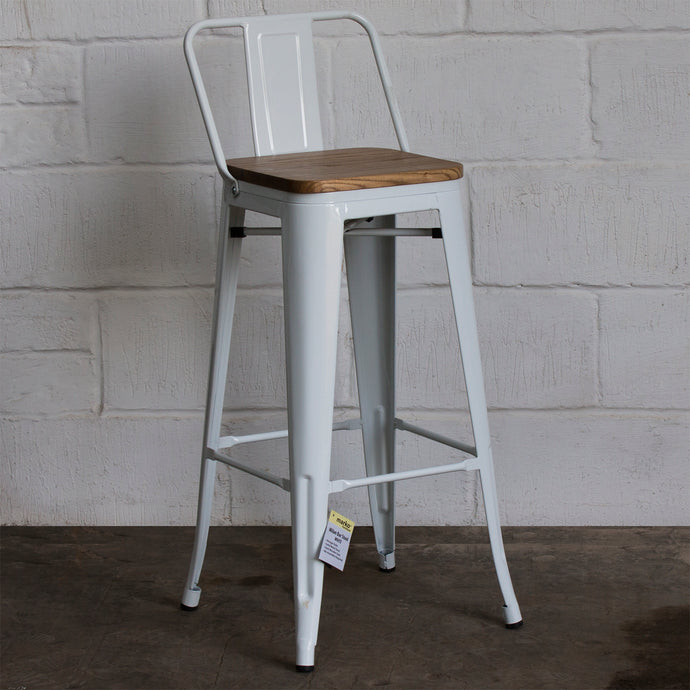 Tuscany Bar Stool - White