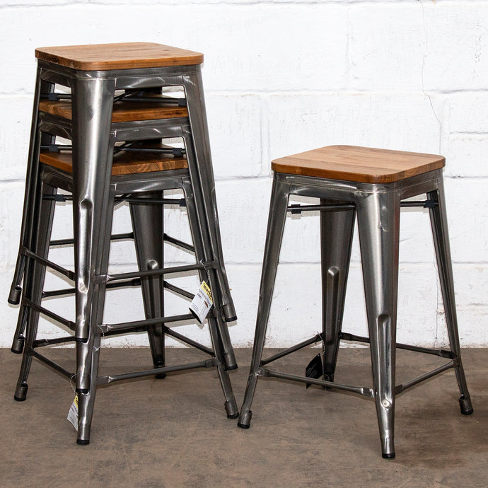 Umbria Bar Stool - Steel