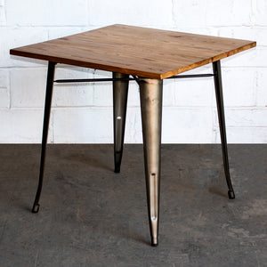 Enna Table - Gun Metal Grey