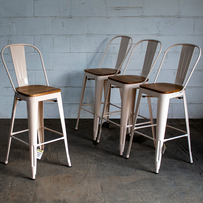 Soranzo Bar Stool - Cream