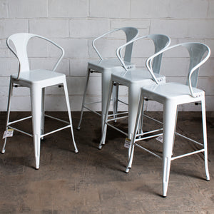 Favara Bar Stool - White