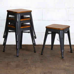 Rho Bar Stool - Graphite Grey