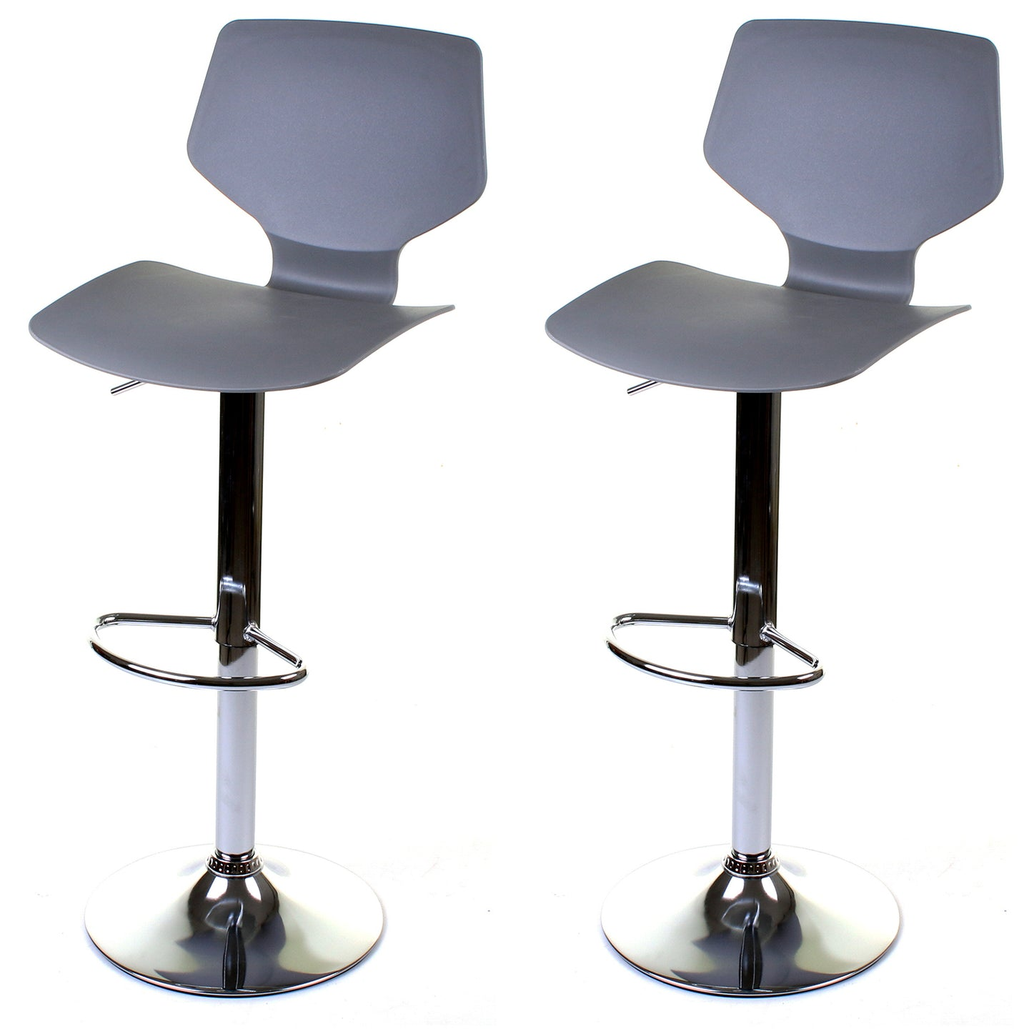 Brianza Bar Stool - Grey - Set of 2