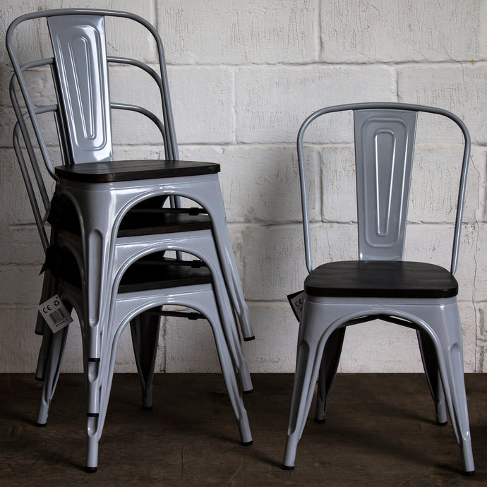 Roma Chair - Pale Grey