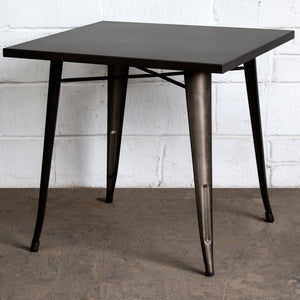 Belvedere Table - Gun Metal Grey