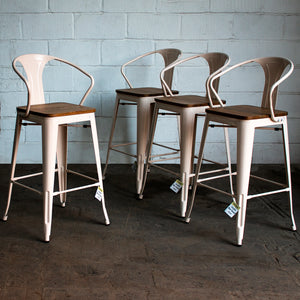 Licata Bar Stool - Cream