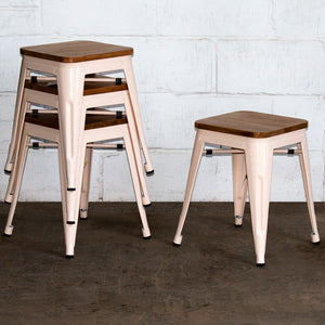 Rho Bar Stool - Cream
