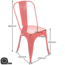 Siena Chairs - Red