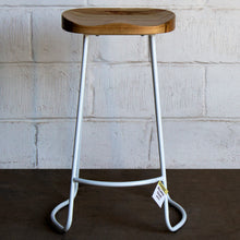 Alcamo Stool - White