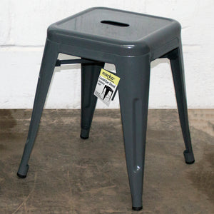 Castel Stool - Graphite Grey