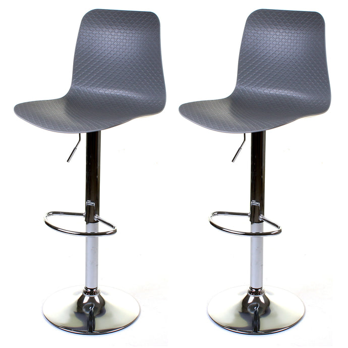 Savona Bar Stool - Grey - Set of 2