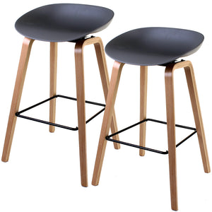 Benevento Bar Stool - Grey - Set of 2