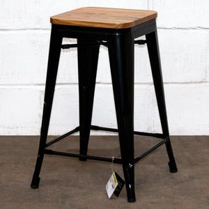 Umbria Bar Stool - Black