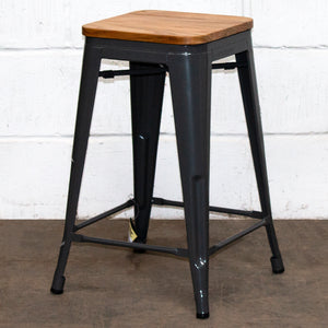 Umbria Bar Stool - Graphite Grey