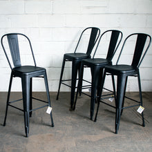 Pascale Bar Stool - Onyx Matt Black