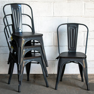 Roma Chair - Graphite Grey