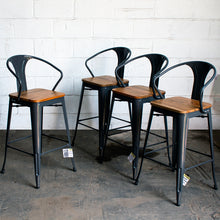 Licata Bar Stool - Graphite Grey