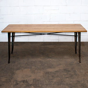 Taranto Table - Gun Metal Grey