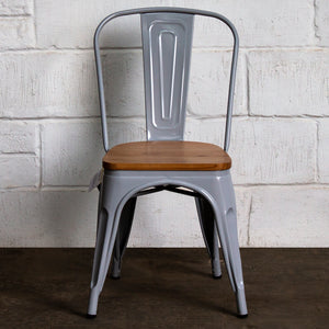 Palermo Chair - Pale Grey
