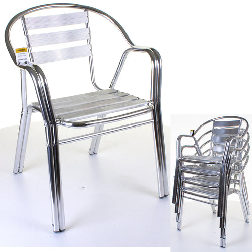 Cabarete Bistro Chair - Chrome