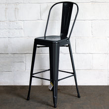Pascale Bar Stool - Graphite Grey