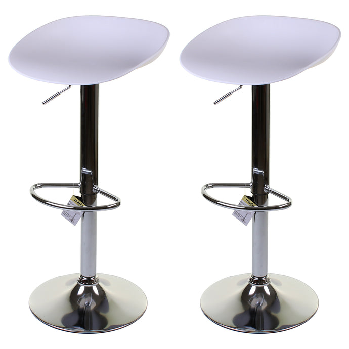 Potenza Bar Stool - White - Set of 2