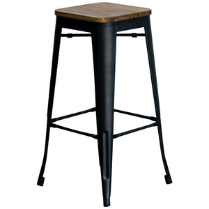 Firenze Bar Stool - Onyx Matt Black