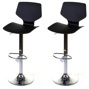 Brianza Bar Stool - Black - Set of 2