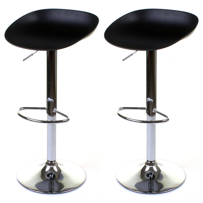 Potenza Bar Stool - Black - Set of 2