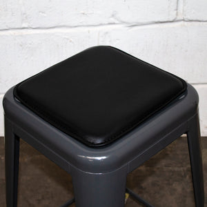 Bar Stool Seat Pad - Black