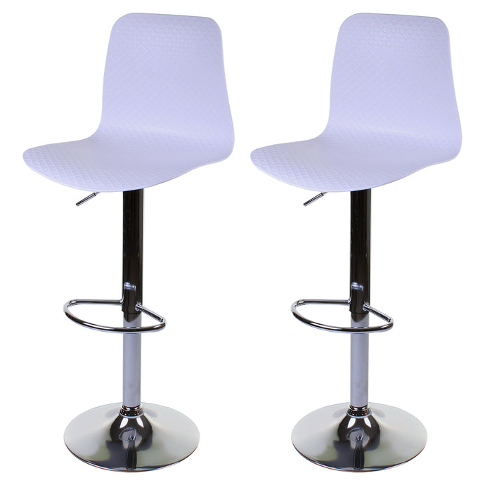 Savona Bar Stool - White - Set of 2