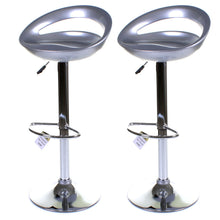 Positano Stool - Silver - Set of 2