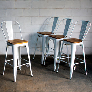 Soranzo Bar Stool - White