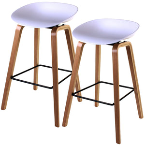 Benevento Bar Stool - White - Set of 2