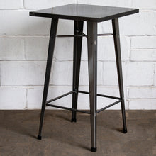 5PC Laus Table & Soranzo Bar Stool Set - Steel