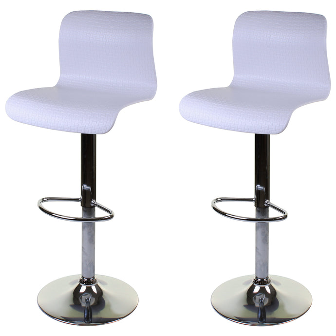 Genoa Bar Stool - White - Set of 2