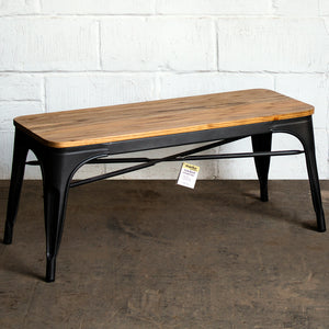 Sicily Bench - Onyx Matt Black
