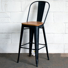 3PC Laus Table & Soranzo Bar Stool Set - Onyx Matt Black
