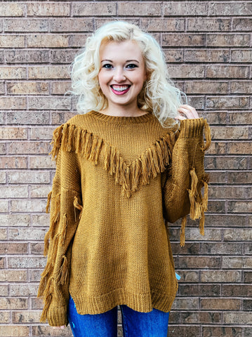 Maroon Pleated Top with Frill Neck & Trumpet Sleeve